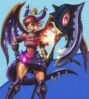 Dragon Queen by Daekai