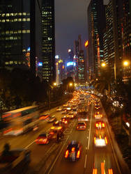 Hong Kong by Night by theshadow330
