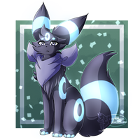 Raffle Prize for L0nelyUmbreon by XRed-moon