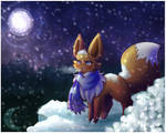 [Contest] .:Tiby in the Snow:. by XRed-moon