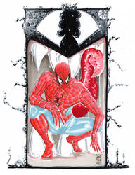 Spider Man commission by idirt