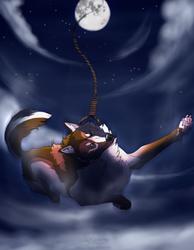 One, two, free-fall by Saigola
