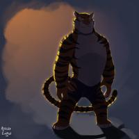 Tiger Dancer by AtaroLapin