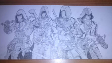 Assassin's Creed Unity: PART 4 by Eleni20011