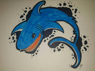 Crazy Psychic Shark??? by Eleni20011