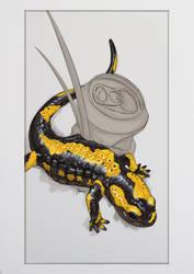FireSalamander by Ingraban