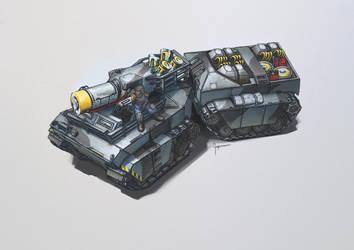 Fenris Cryo Tank by Ingraban