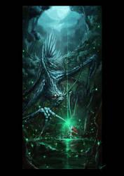 Araya's ascension by Ingraban