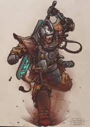Iron Knight by Ingraban