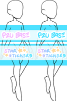 P2U fullbody base by star-stickers
