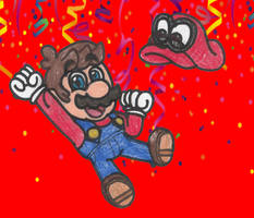 Super Mario Odyssey's 1st Anniversary! by DrQuack64