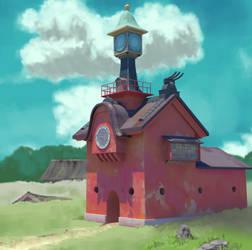 Spirited Away House by BuddhaTheGod
