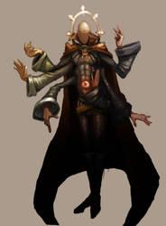 Priest of the Talian temple by BuddhaTheGod