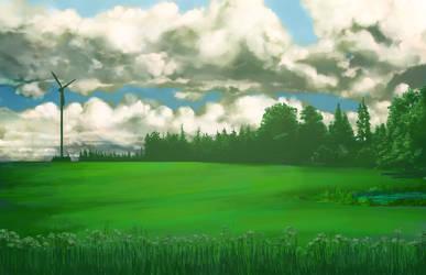 field by BuddhaTheGod