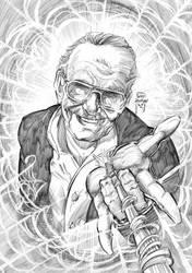 Stan Lee by CarlosRodriggsArt
