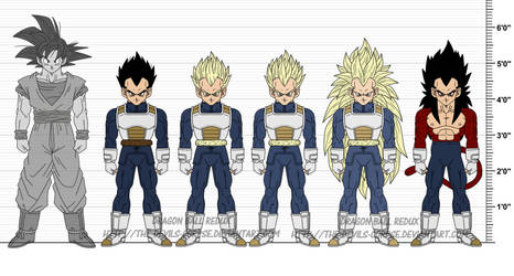 DBR: Vegeta v7 by The-Devils-Corpse