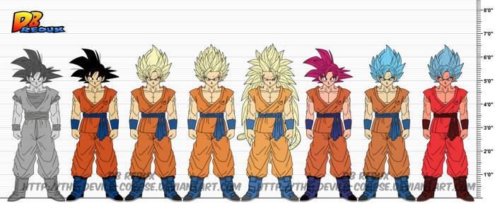 DBR Son Goku v8 by The-Devils-Corpse