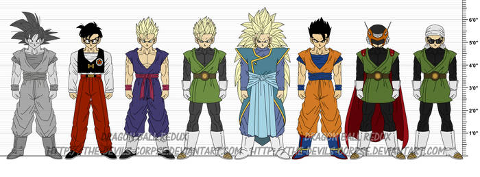 DBR Son Gohan v5 by The-Devils-Corpse