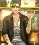 Jacksepticeye - Life is Strange by Owlzey
