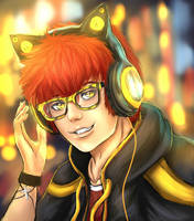 Mystic Messenger - 707 by Owlzey