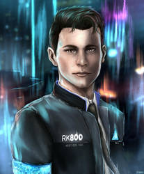 Detroit: Become Human - Connor RK800 by Owlzey