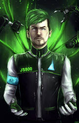 Jacksepticeye - Detroit: Become Human by Owlzey