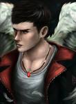 Dante - DmC: Devil May Cry by Owlzey