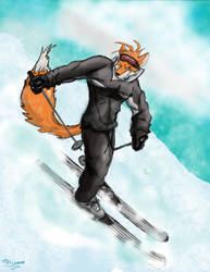Kiriban Prize --Skiing-- by RedRodent