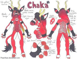 Chaka ref sheet 2007 by Peachfuzz