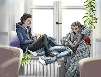 Isak and Even, Skam s3 by FlyToFerio