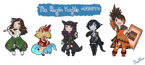 [FFXIV] The Penguin Knights Free Company! {{NOOT}} by Poncakes
