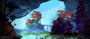 Cave village by AntonKurbatov
