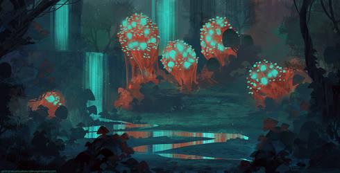 Glowing Dream by AntonKurbatov