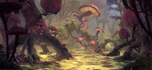 Swamps of Shantyland by AntonKurbatov