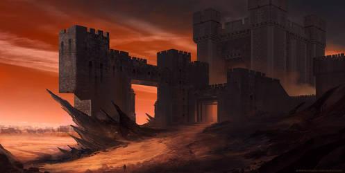 Castle of the South Gate by AntonKurbatov