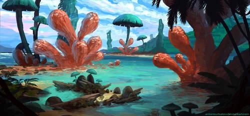 Shores of Shromm by AntonKurbatov