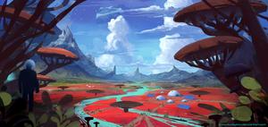 Endless Valley by AntonKurbatov
