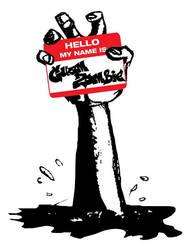 Hello Zombie Hand by Guam-Zombie