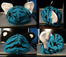 Blue Tiger Cub Hat by AokiBengal