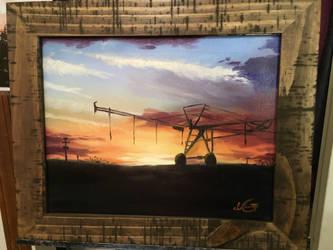 Home (oil painting) by Blazethemoviecat