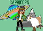 Teen Capricorn by RebelScumWoman77