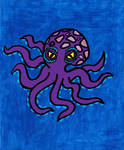 Purple Octopus by RebelScumWoman77