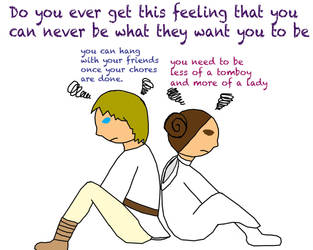 Do You Ever Get This Feeling That You Can Never Be by RebelScumWoman77