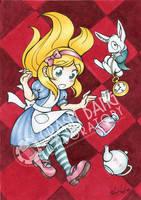 Alice in Wonderland by Karmada