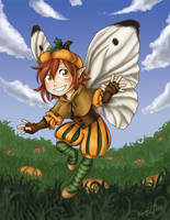 Nutmeg - The Pumpkin Fairy by Karmada