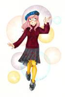 Rose Pink Hair by Karmada