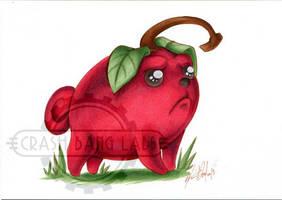 Commission - Cherry Pug by Karmada