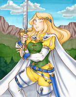 Final Fantasy VI - Celes Chere by Karmada