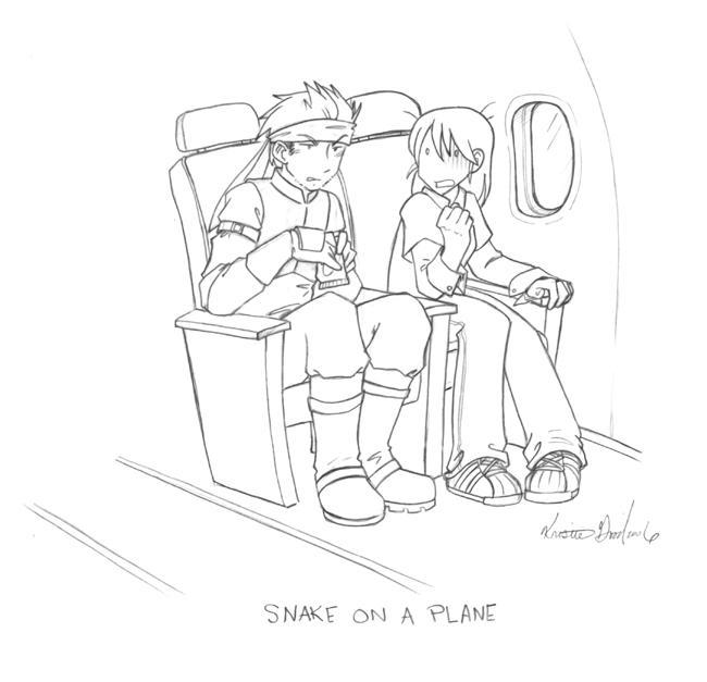 :Snake on a Plane: by Karmada
