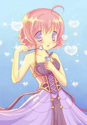 Anime Heart Bubbles by DestinyBlue